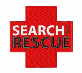Search and Rescue Embroidered Patches
