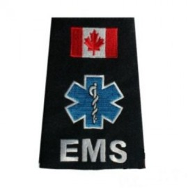 EMS STAR OF LIFE EMBROIDERED SLIP-ONS