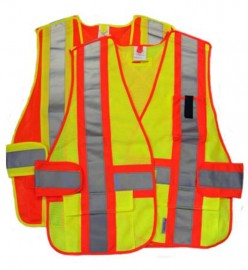---Hi/Viz Mesh Traffic Safety Vest