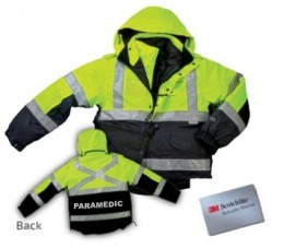6-IN-1 TWO TONE REVERSIBLE SAFETY JACKET