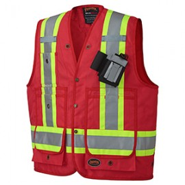 CSA SURVEYOR'S/ SUPERVISOR'S VEST Polyester