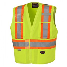 ---HI/VIZ SAFETY TEAR-AWAY VEST