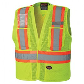 ---Mesh Orange or Lime Safety Vest