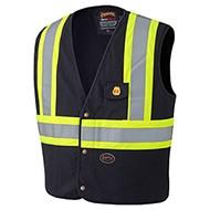 Flame Resistant 100% Cotton Safety Vest