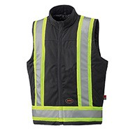 Flame Resistant Insulated Safety Vest Cotton Duck