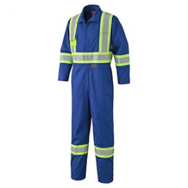Flame Resistant 88% Cotton 12% Nylon Safety Coverall