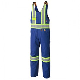 Flame Resistant 88% Cotton 12% Nylon Safety Overall