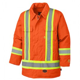 Flame Resistant Cotton Safety Jacket