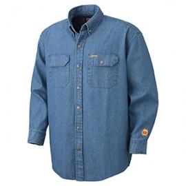 Flame Resistant Denim Shirt