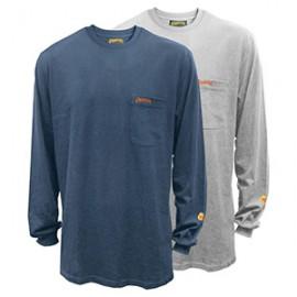 Flame Resistant Long Sleeve T-Shirt - 100% Cotton