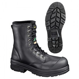 "LEATHER 8"" WORK BOOT 'ULTRA COMFORT' MODEL"